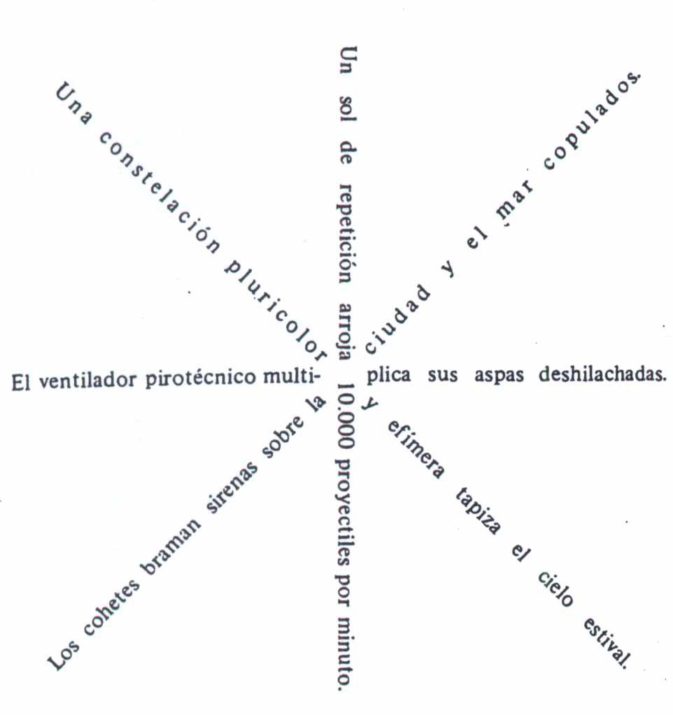 "Girándula"" – Vicente Huidobro)"