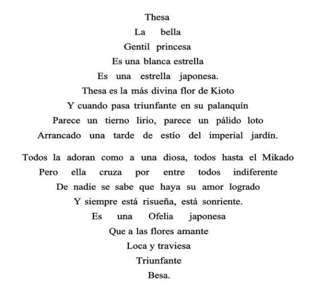 Triangulo-armónico.-Vicente-Huidobro.Caligrama-publicado-en-Canciones-en-la-Noche.-1913